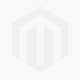 TWO TONE BLACK/WHITE CORD WITH SILVER  CROSS