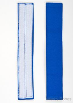 ROYAL BLUE BANDS FOR MERCY ROBES ROCHET