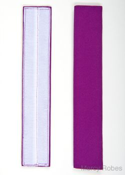 RED PURPLE BANDS FOR MERCY ROBES ROCHET