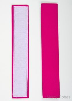 FUCHSIA BANDS FOR MERCY ROBES ROCHET