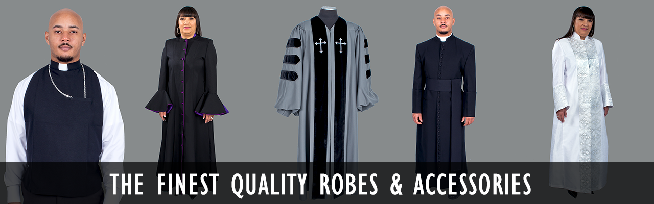 Clergy & Pulpit Robes | Church Accessories | Mercy Robes